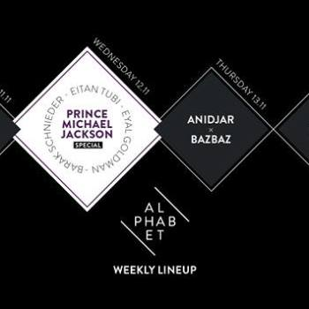 Alphabet Weekly Line Up