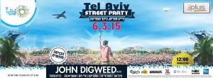 Tel Aviv Street Purim Party 2015 with John Digweed