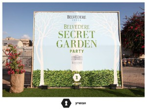 Belvedere secret garden tel aviv party