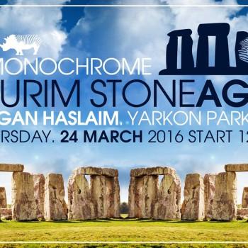 Monochrome Purim 2016 Stone Age