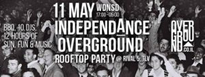 INDEPENDA̲NCE OVERGROUND Rooftop Party at Rival 5