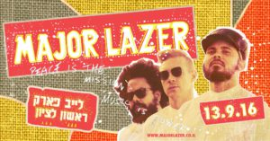 Major Lazer in Israel