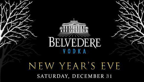 Belvedere New Year's Eve 2017