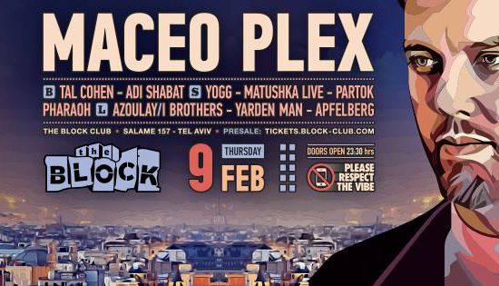 Maceo Plex at The Block